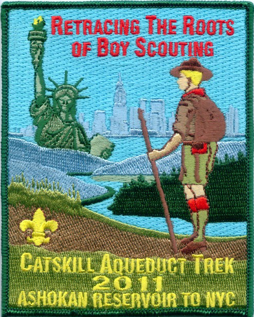 Catskill Aqueduct Trek Commemorative Patch
