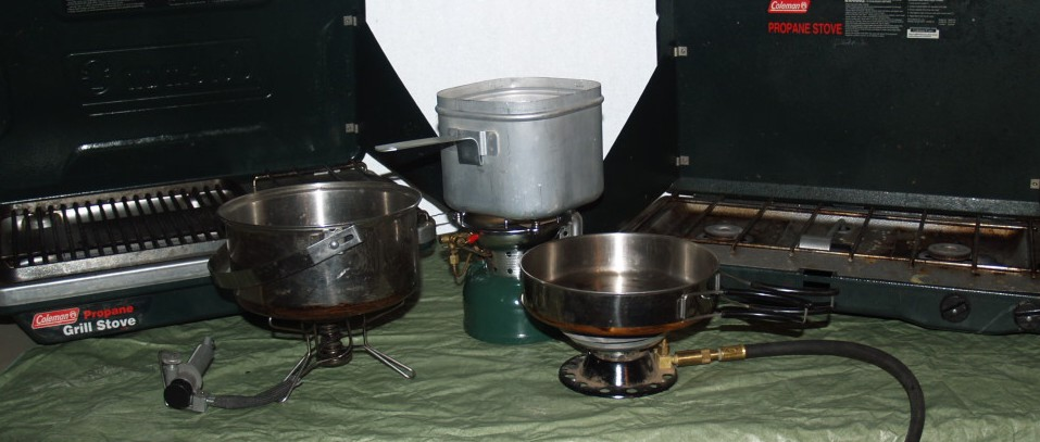 camp stoves